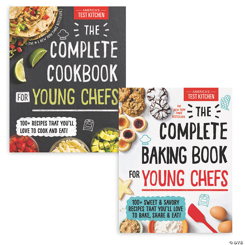 Complete Cooking and Baking Books: Set of 2 Image Thumbnail