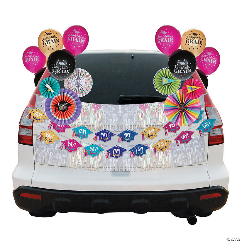Congrats Girl Car Decorating Kit Audio Thumbnail