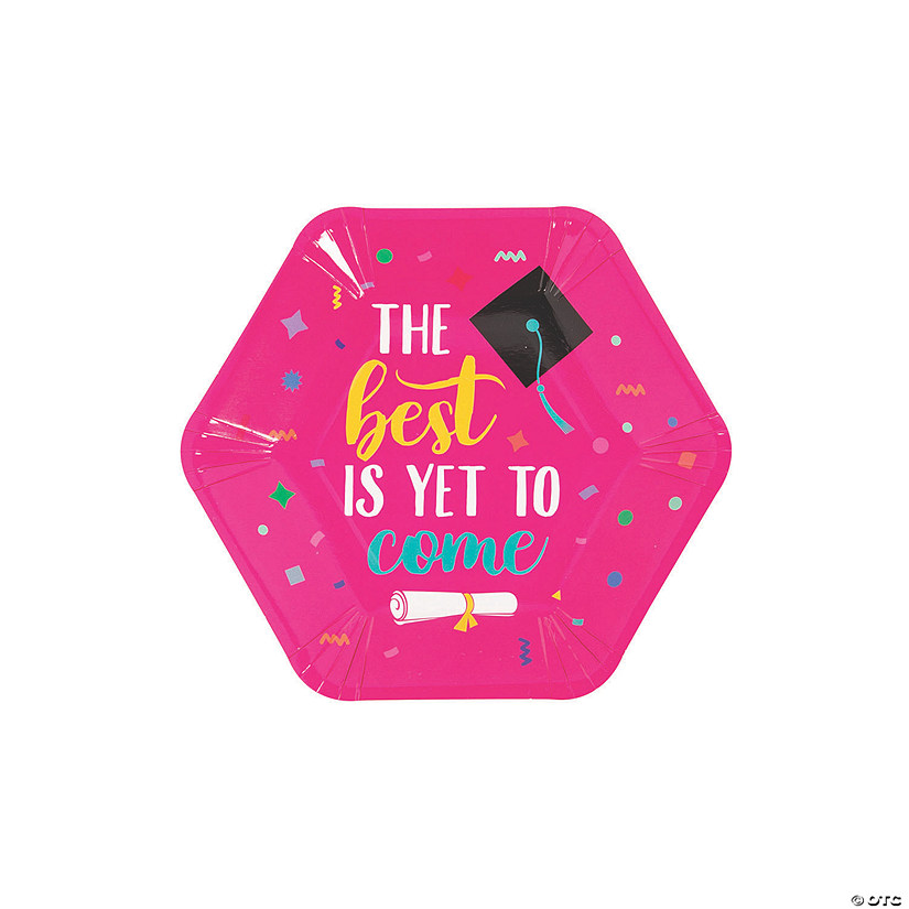 Congrats Girl Graduation Party Paper Dessert Plates Audio Thumbnail