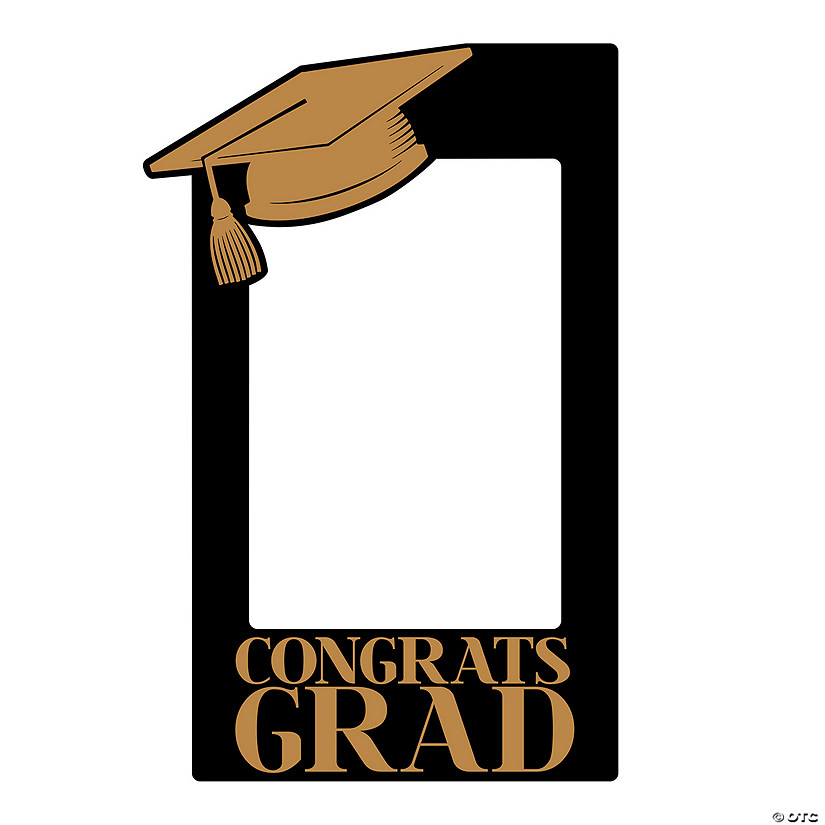 Congrats Grad Insta-Frame Outdoor Yard Sign Image Thumbnail
