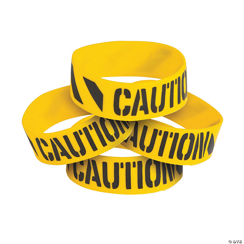 Construction Big Band Rubber Bracelets Image Thumbnail