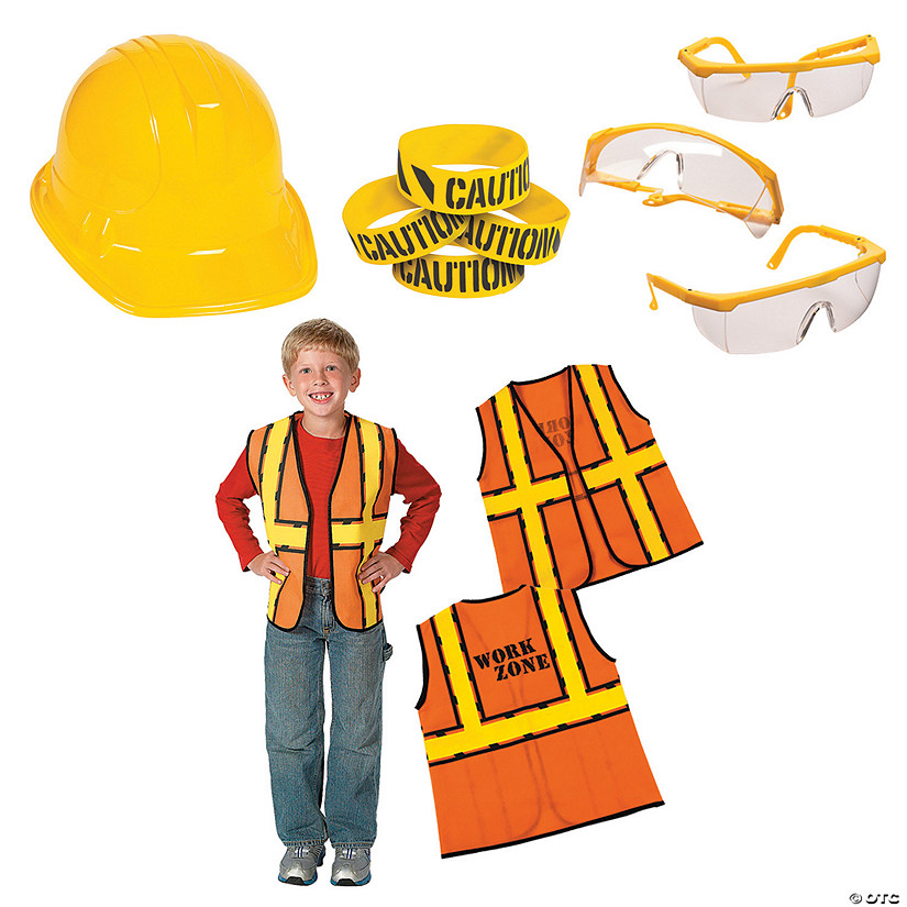 Construction Party Accessories for 12 Image Thumbnail