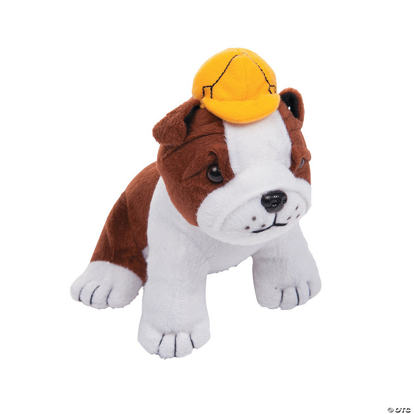 Construction Stuffed Dogs