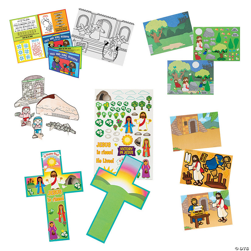 Construction VBS Activity-a-Day Assortment Image Thumbnail