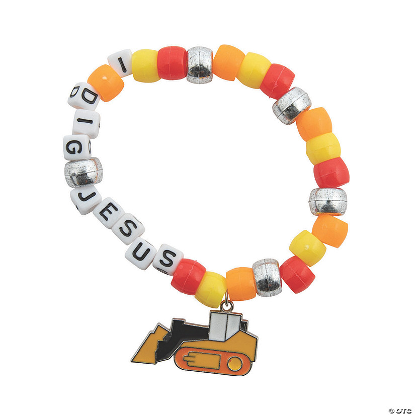 Construction VBS Beaded Bracelet Craft Kit Audio Thumbnail