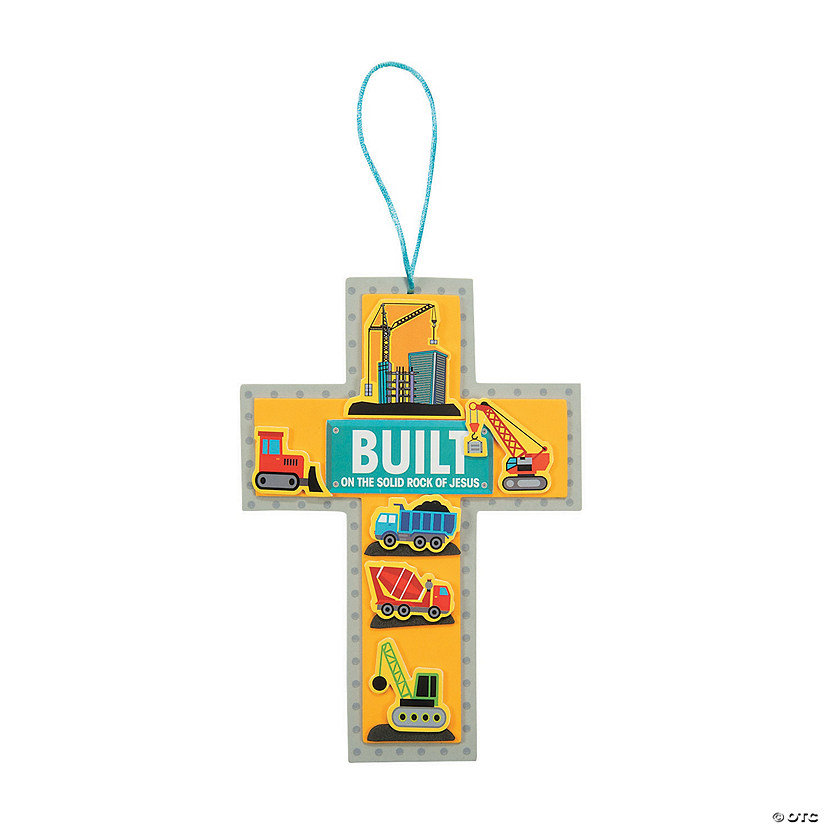 Construction VBS Cross Sign Craft Kit Audio Thumbnail