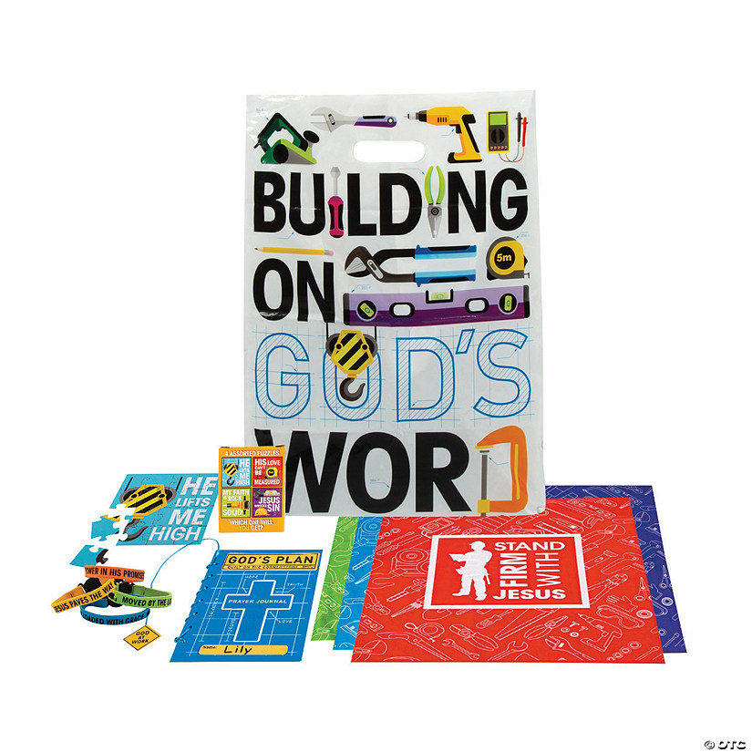 Construction VBS On-the-Go Kits for 48 Image Thumbnail