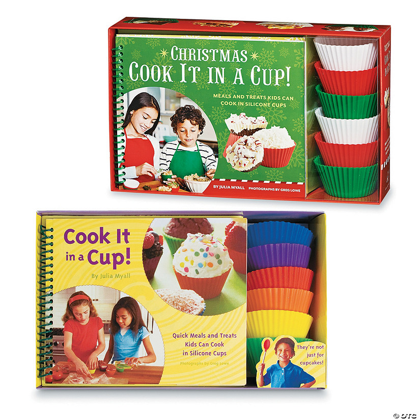 Cook It in a Cup! and Christmas in a Cup! Set of 2