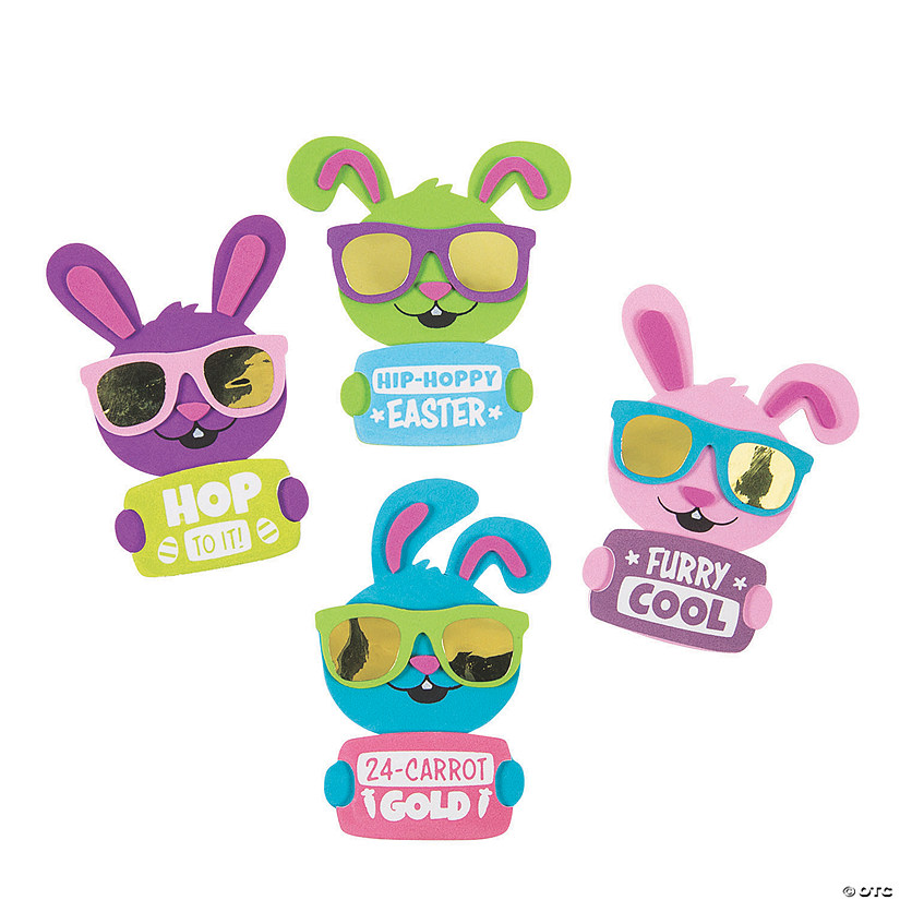 Cool Bunny Easter Magnet Craft Kit Image Thumbnail