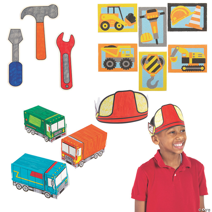 Cool Construction Craft Assortment Audio Thumbnail