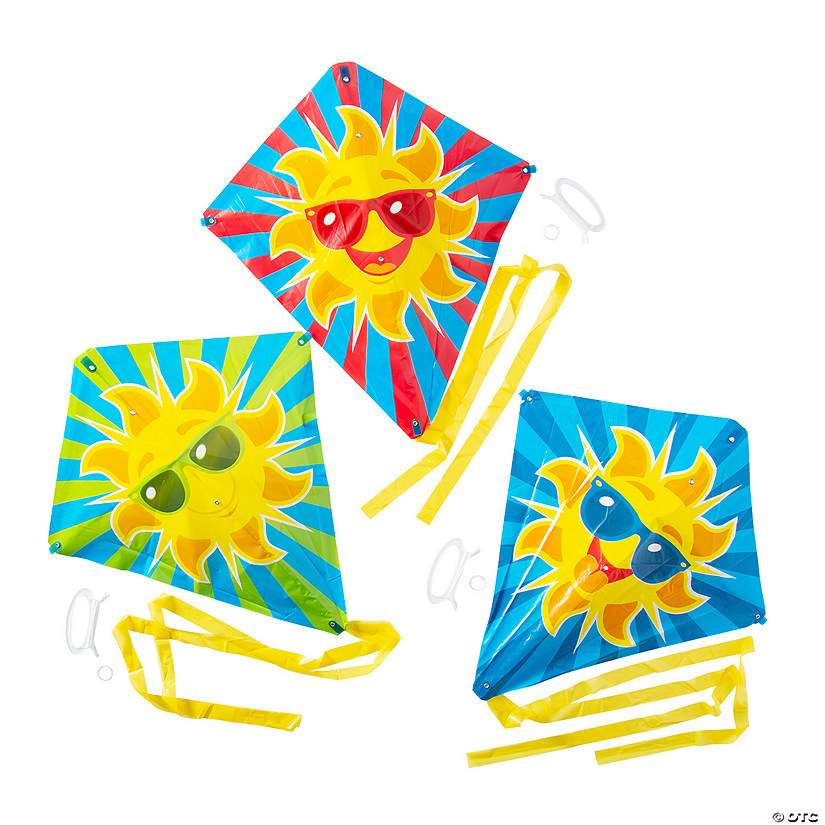 Cool Sun Kites with Tail Image Thumbnail