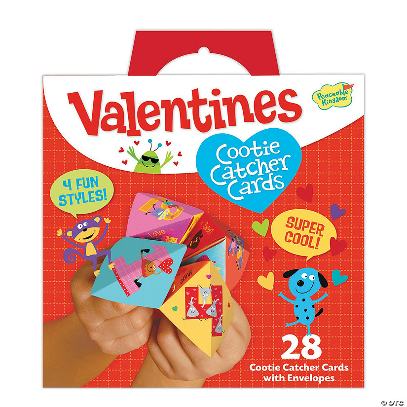 Cootie Catcher Super Fun Valentines Pack Image Thumbnail