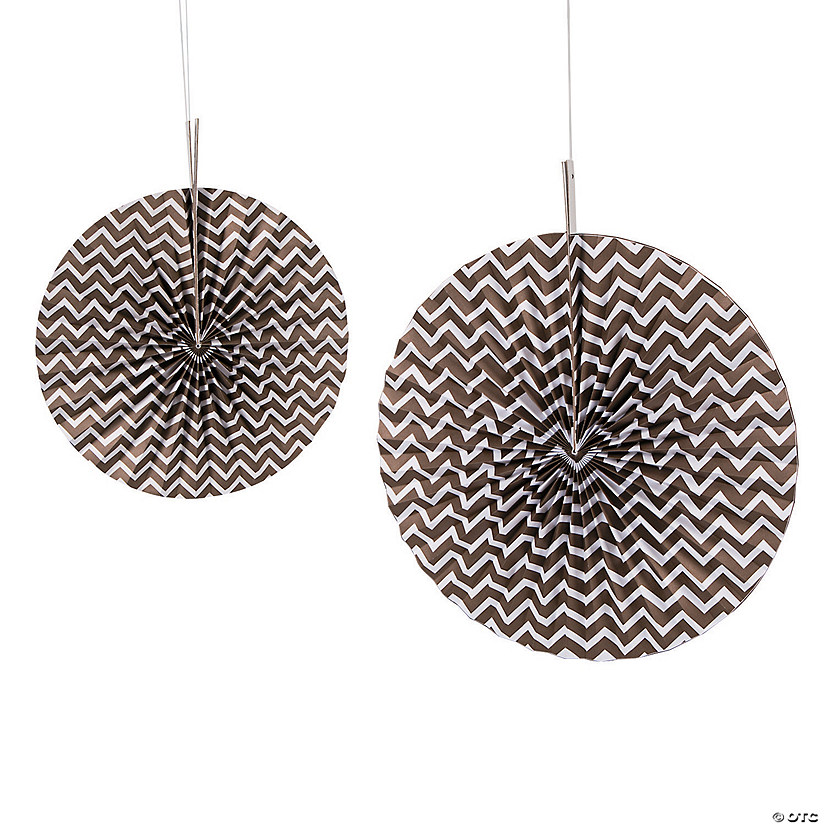 Copper Chevron Hanging Fans Audio Thumbnail