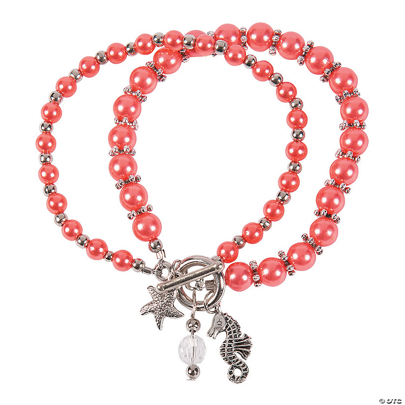 Coral Beach Bracelet Craft Kit