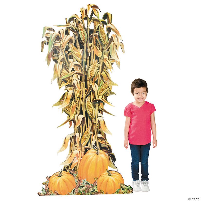 Corn Stalk Cardboard Stand-Up