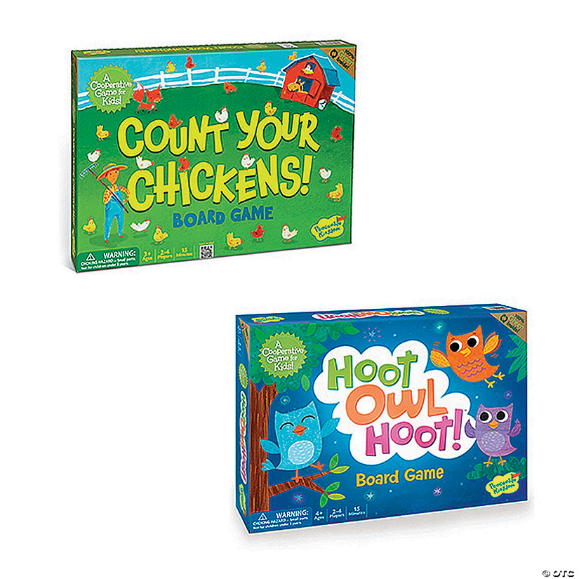Count Your Chickens and Hoot Owl Hoot: Set of 2 Image Thumbnail