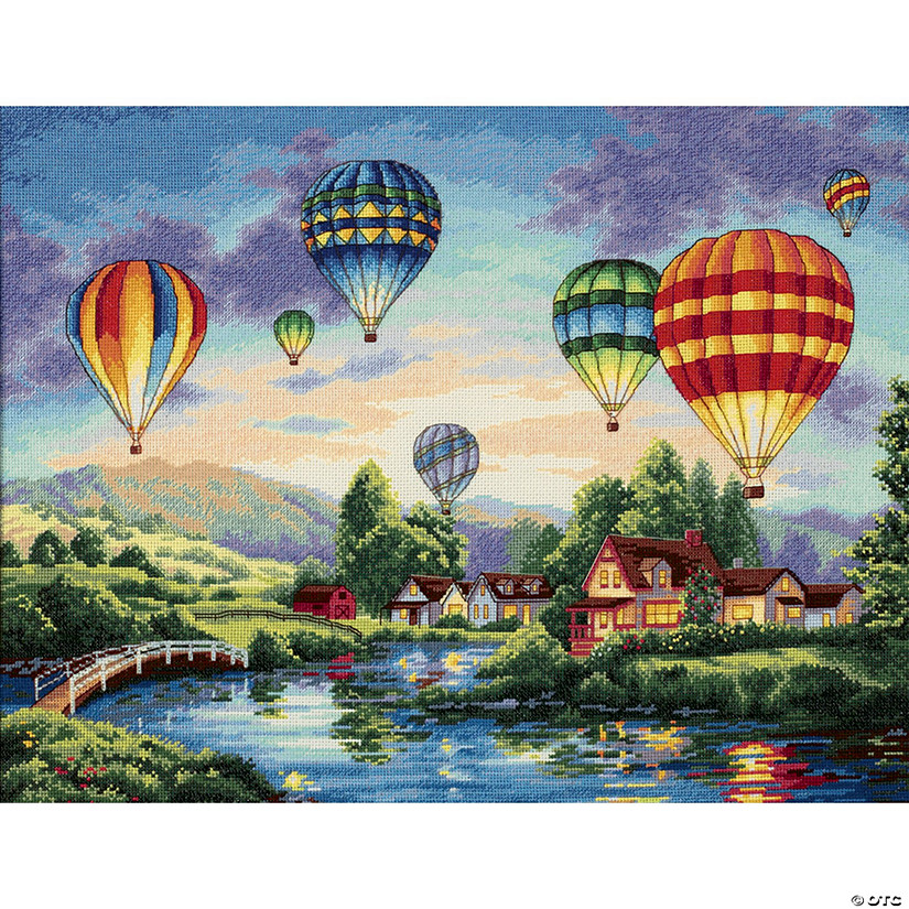 Counted Xstitch Kit -Balloon Glow