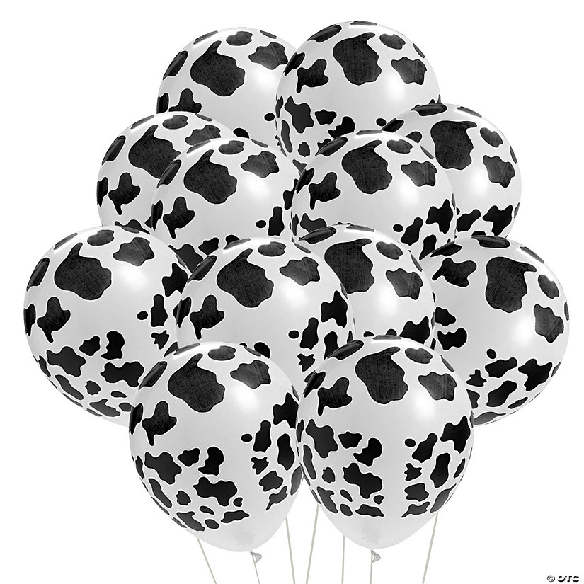 "Cow Print 11"" Latex Balloons Audio Thumbnail"