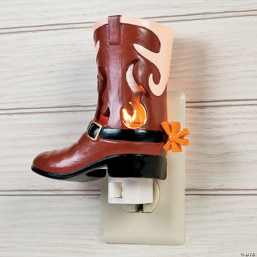 Cowboy Night Light