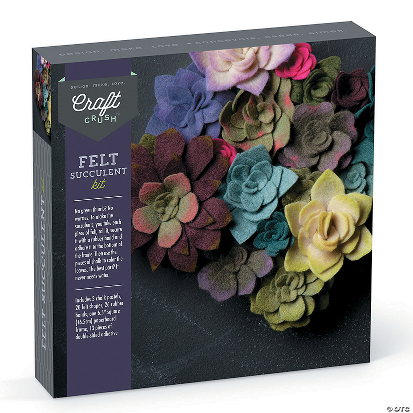 Craft Crush: Felt Succulent Kit