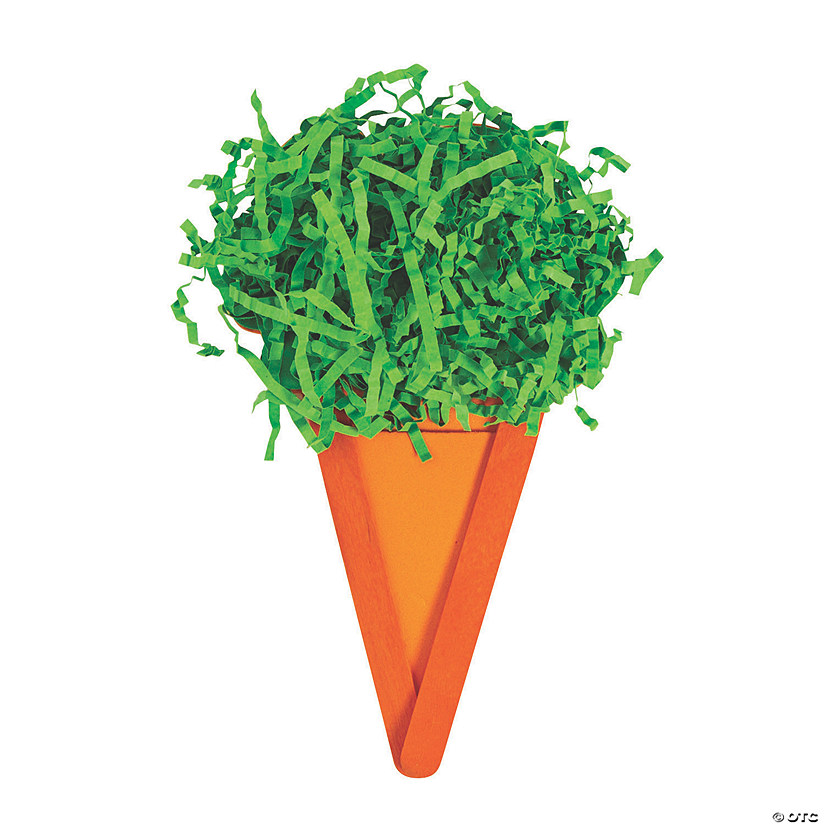 Craft Stick Carrot Magnet Craft Kit Image Thumbnail