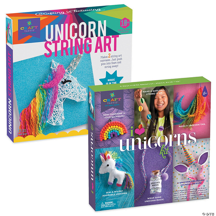 Craft-tastic I Love Unicorns & Unicorn String Art Audio Thumbnail
