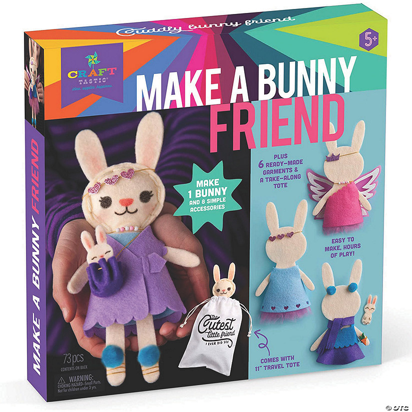 Craft-tastic Make a Bunny Friend Image Thumbnail