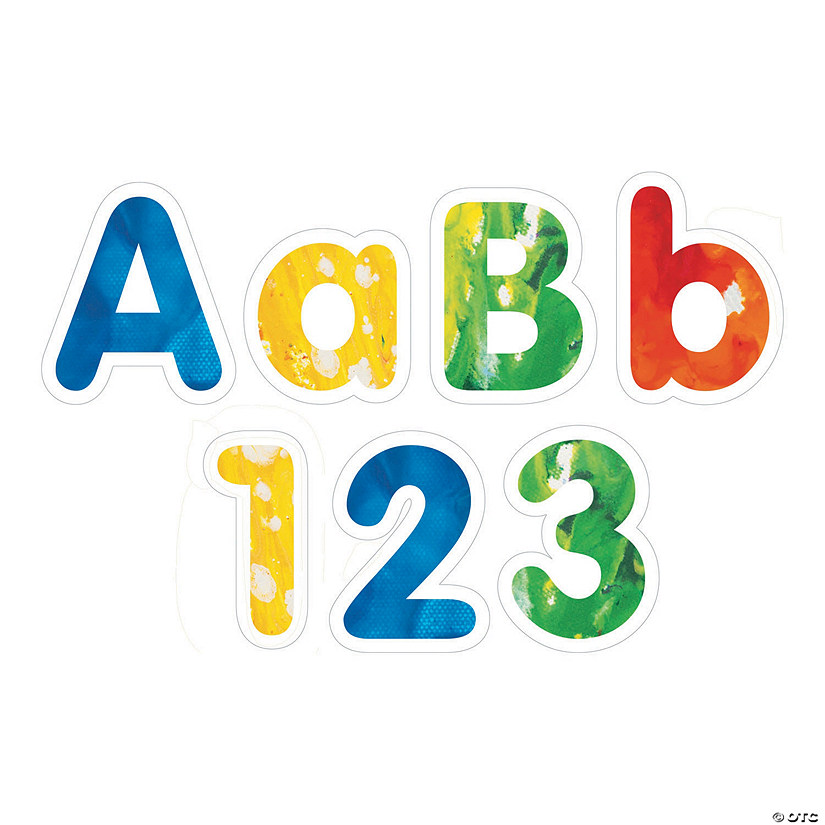 Crayola® Bulletin Board Letters & Numbers Audio Thumbnail