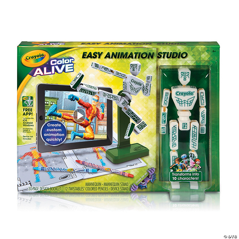 Crayola Easy Animation Studio Audio Thumbnail