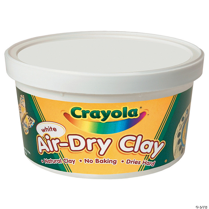 Crayola<sup>®</sup> Air-Dry Clay - 2 1/2 lbs.