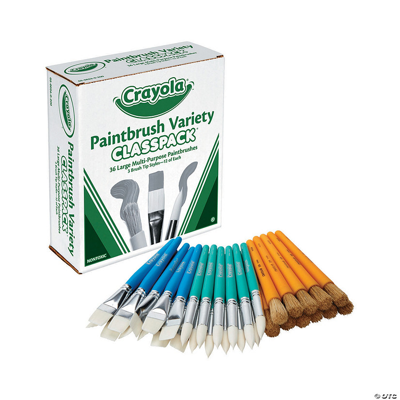Crayola<sup>®</sup> Paintbrush Classpack<sup>®</sup>