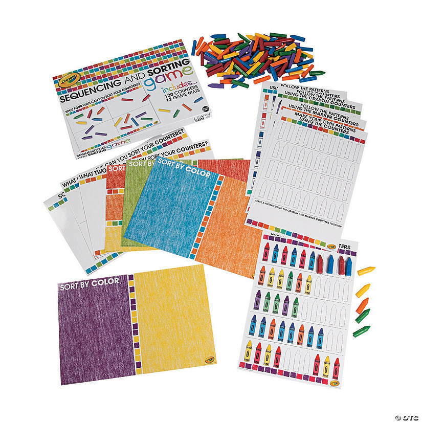 Crayola<sup>®</sup> Sequencing & Sorting Game