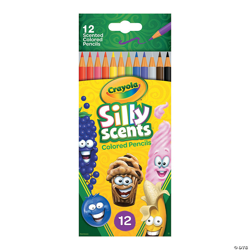 Crayola<sup>®</sup> Silly Scents™ Colored Pencils