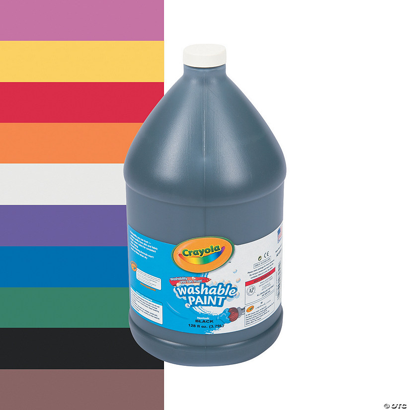 Crayola® Washable Paint - Gallon