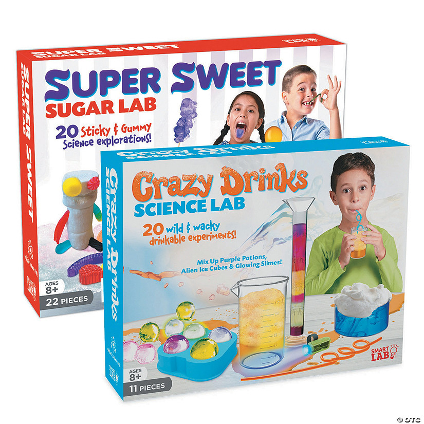 Crazy Drinks & Super Sweet Sugar Lab: Set of 2