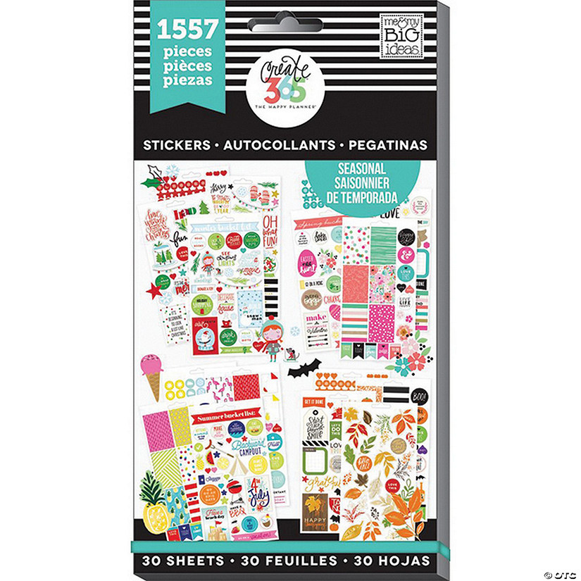 Create 365 The Happy Planner Seasonal Sticker Value Pack Audio Thumbnail
