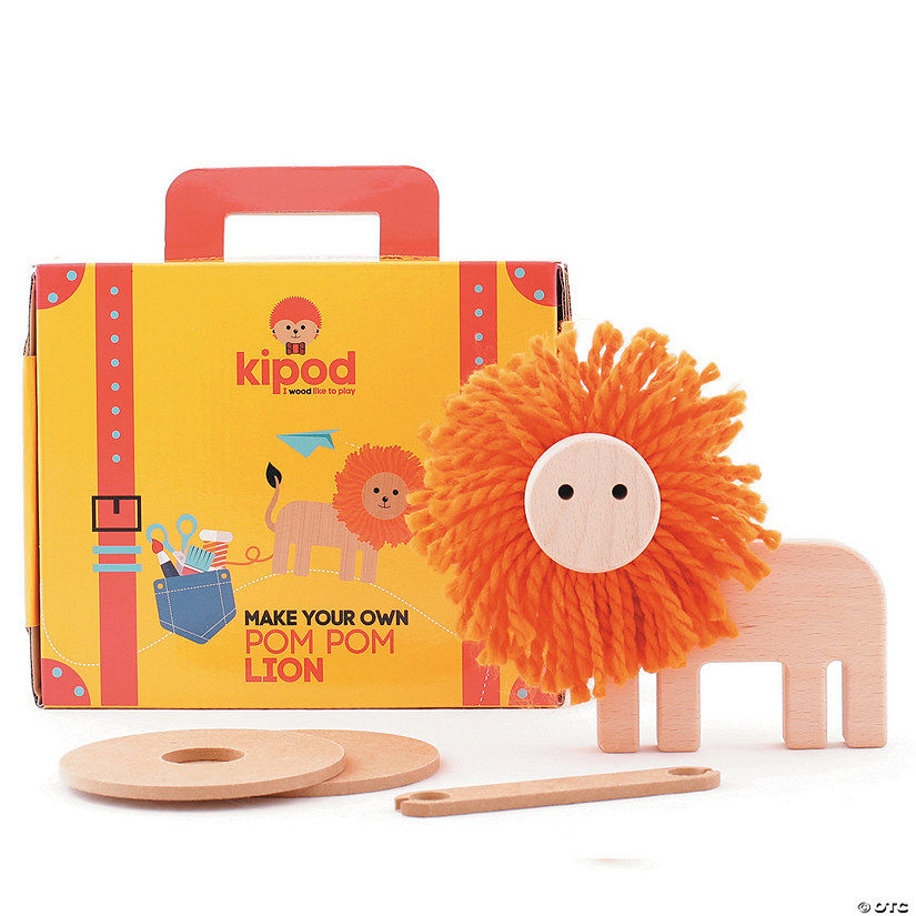 Create Your Own Pom Pom Lion