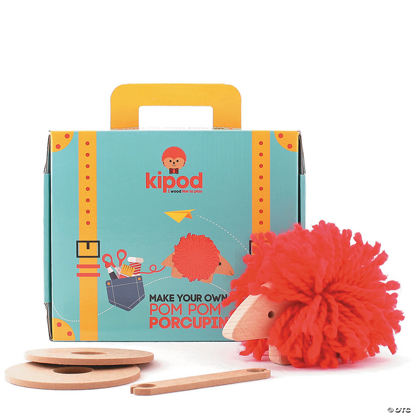 Create Your Own Pom Pom Porcupine