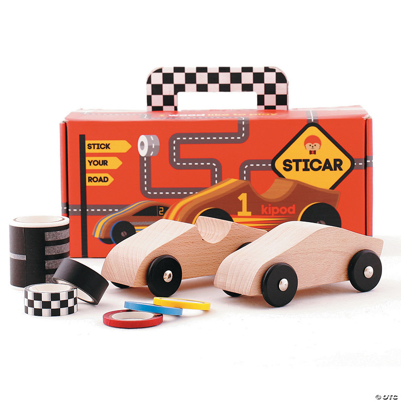 Create Your Own Wooden Race Car Kit