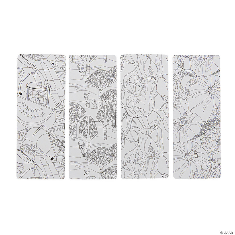 Creative Coloring Bookmarks Seasons - Discontinued