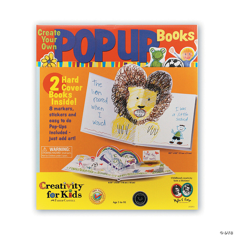 786ea0e8b2 Creativity for Kids Create Your Own Pop-Up Book Audio Thumbnail
