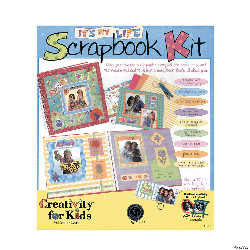 Creativity for Kids It's My Life Scrapbook Kit