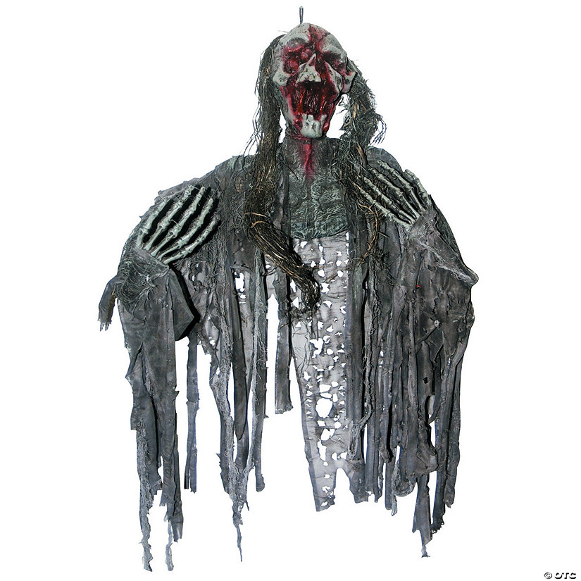 Creepy Zombie Halloween Decoration Image Thumbnail