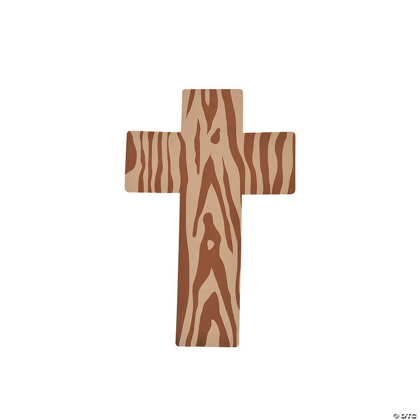 Crosses with Wood Design