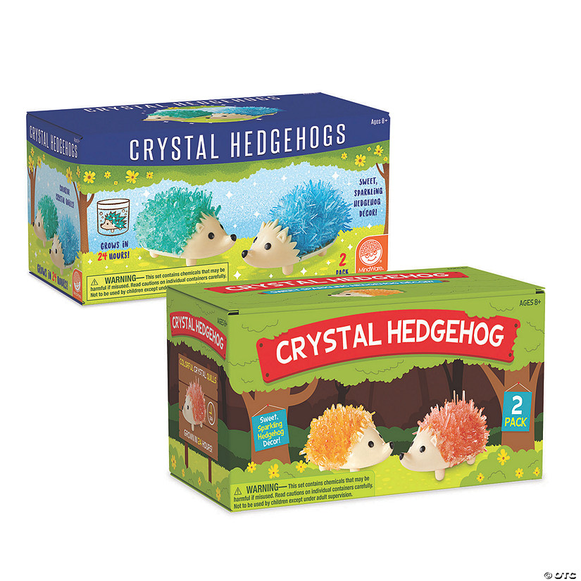 Crystal Creations: Hedgehog Set of 2 Image Thumbnail
