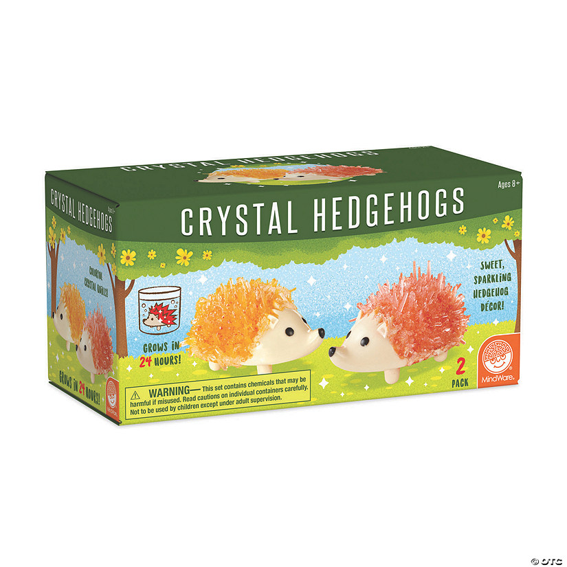 Crystal Creations Hedgehogs: Warm Colors Image Thumbnail