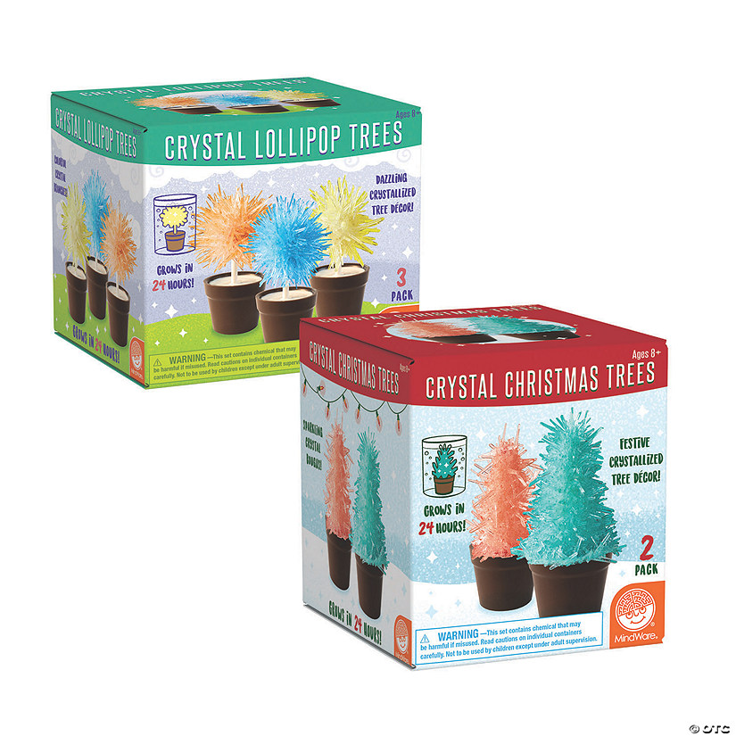 Crystal Creations: Lollipop and Christmas Trees Set of 2 Audio Thumbnail