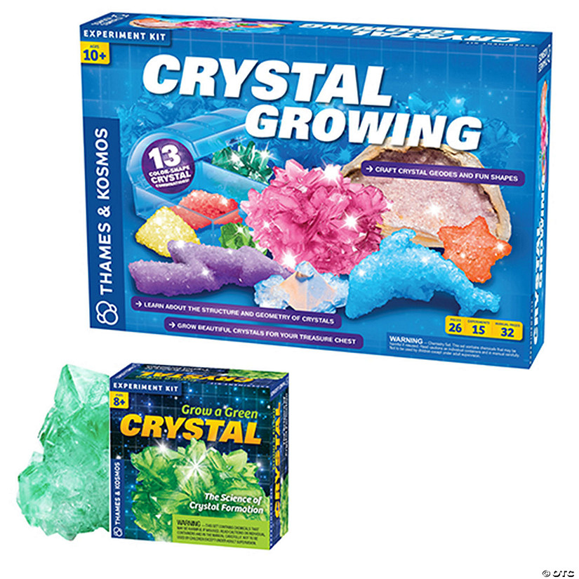 Crystal Growing Kit plus FREE Mini Crystal Audio Thumbnail