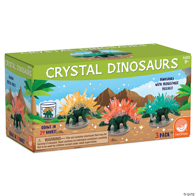 Crystal Growing Kits: Dinosaurs Image Thumbnail