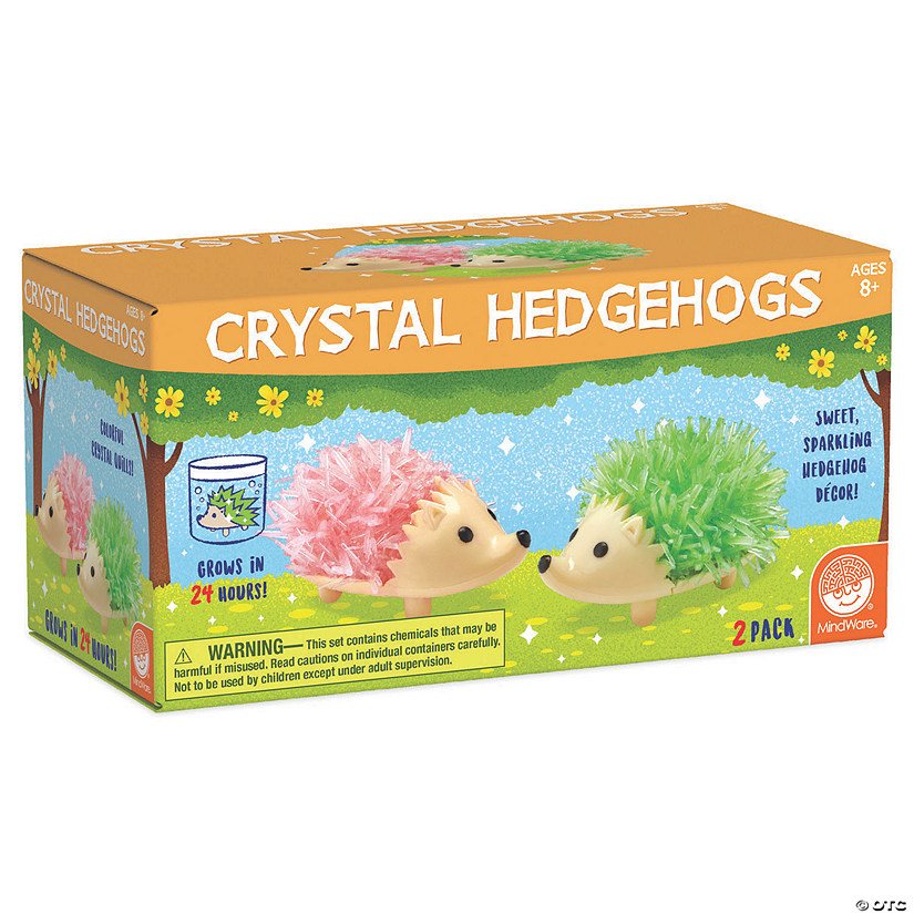 Crystal Growing Kits: Hedgehogs - Bright Colors Image Thumbnail